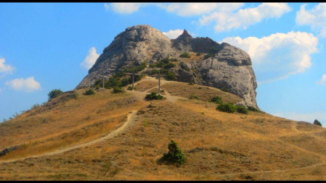 Гора Голгофа в Израиле 2