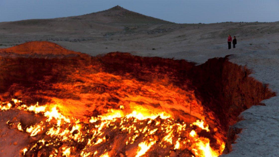 Газовый кратер Дарваза3