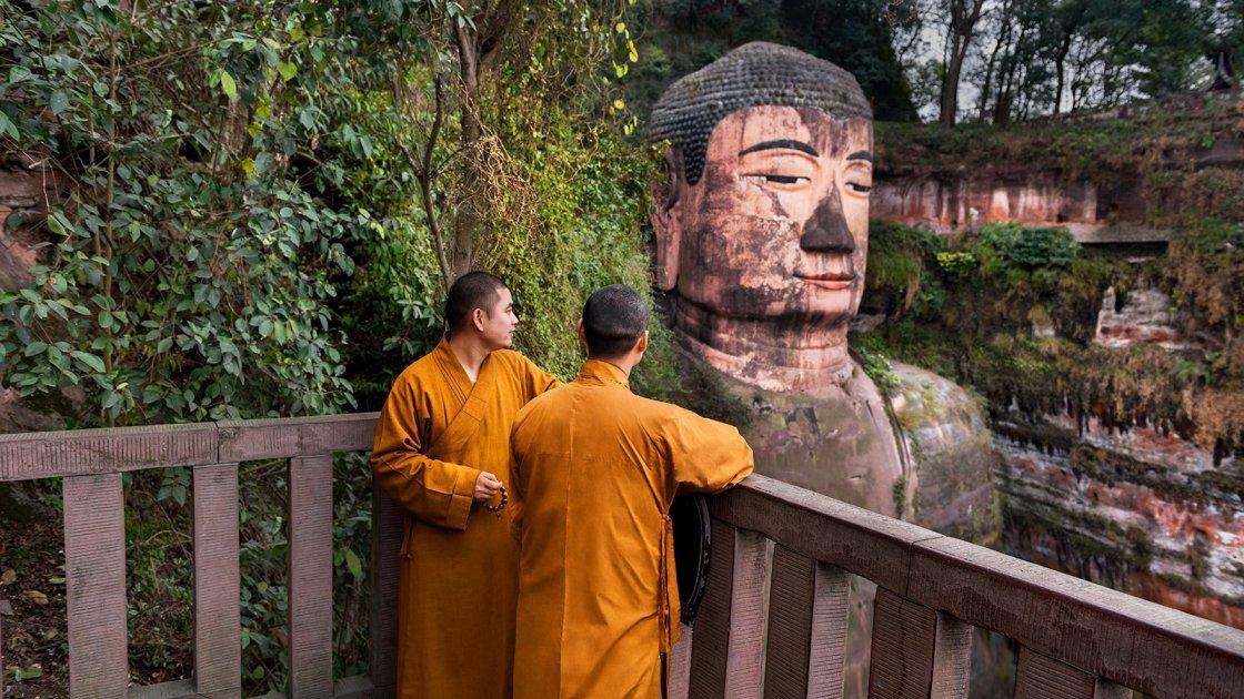 Статуя Будды в Лэшане 4