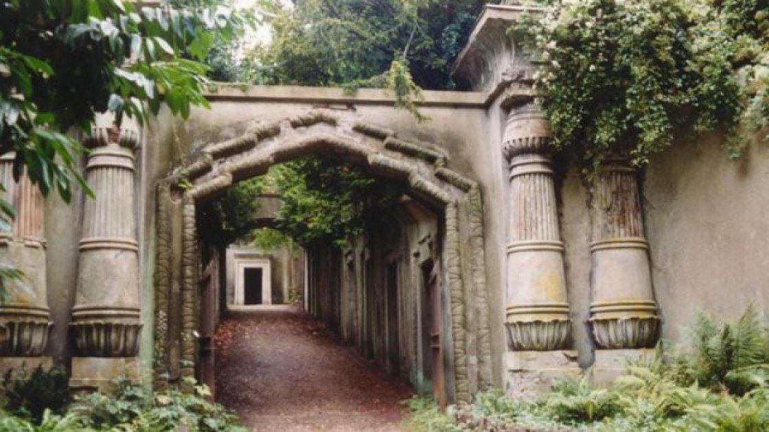 Хайгейтское кладбище 1