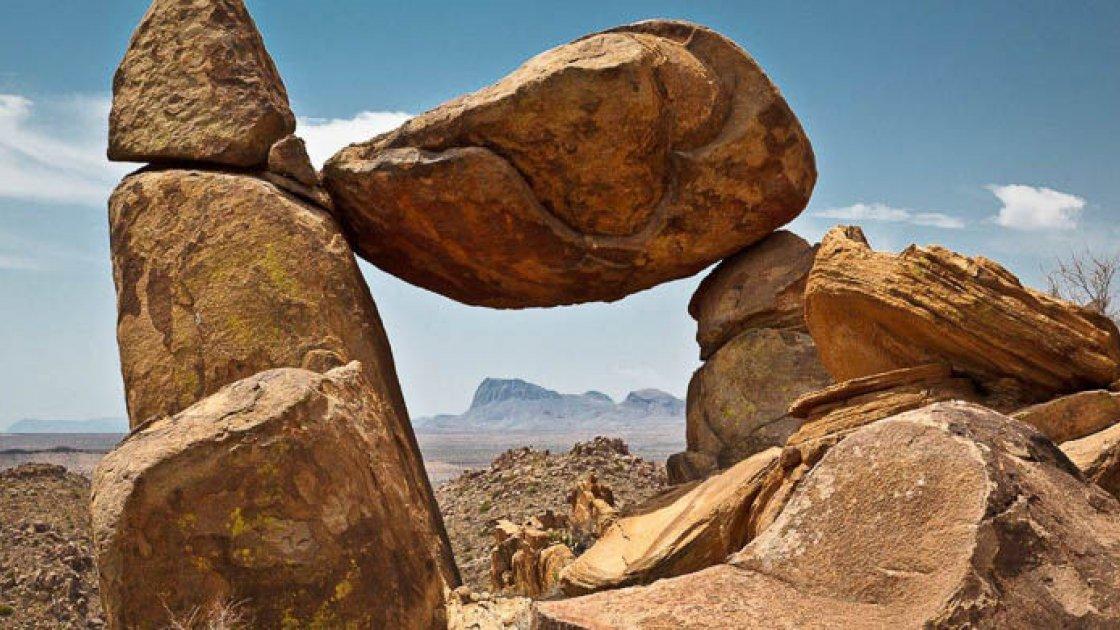 Загадка висячих камней в США 3