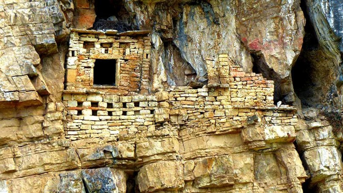 Саркофаги индейцев Чачапойя 2