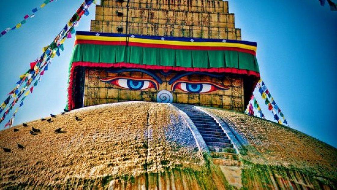 Буддийская ступа 1