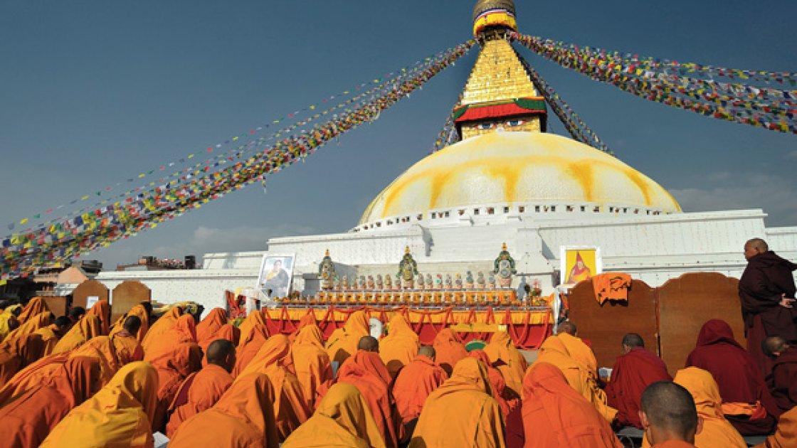Буддийская ступа 3