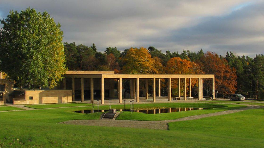 Лесное кладбище в Стокгольме2