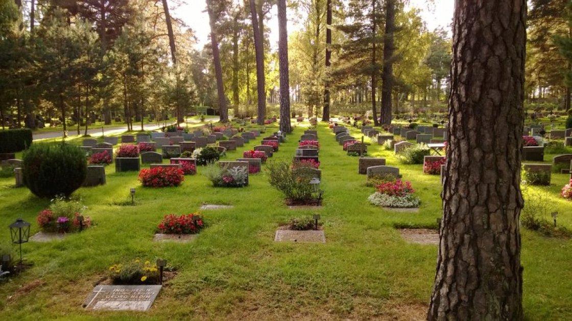 Лесное кладбище в Стокгольме1