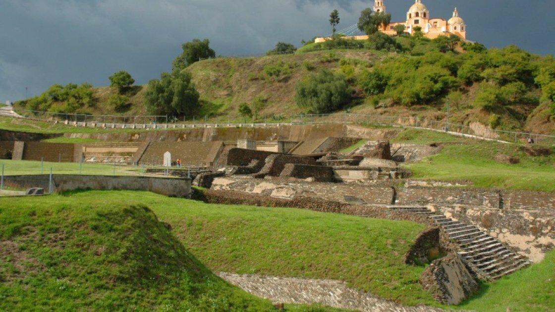 пирамида Тлачиуальтепетль  2