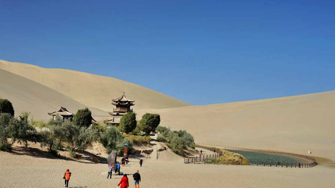 Озеро Юэяцюань5