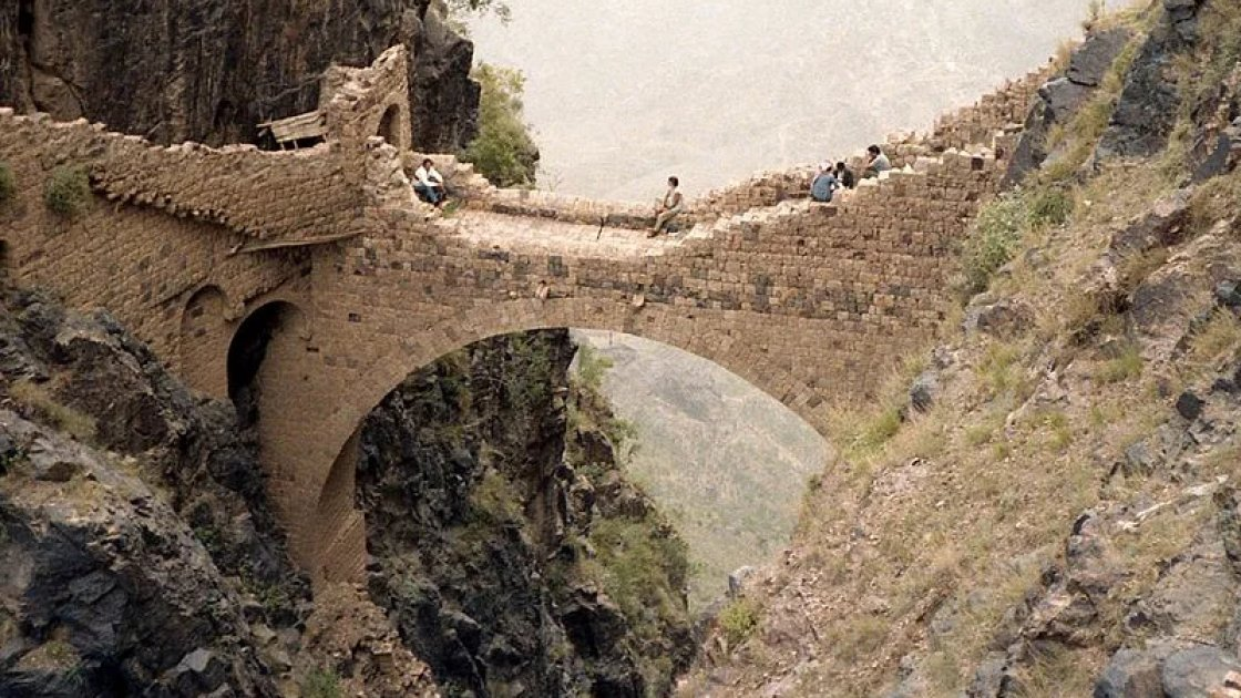 Мост Шехара в Йемене