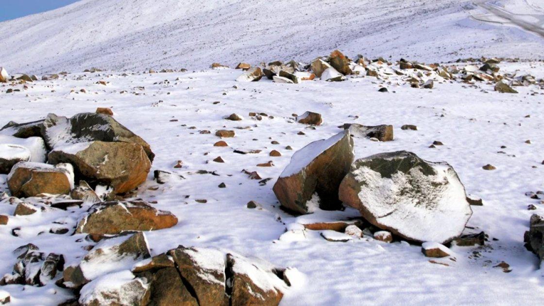 Зима в пустыне Атакама