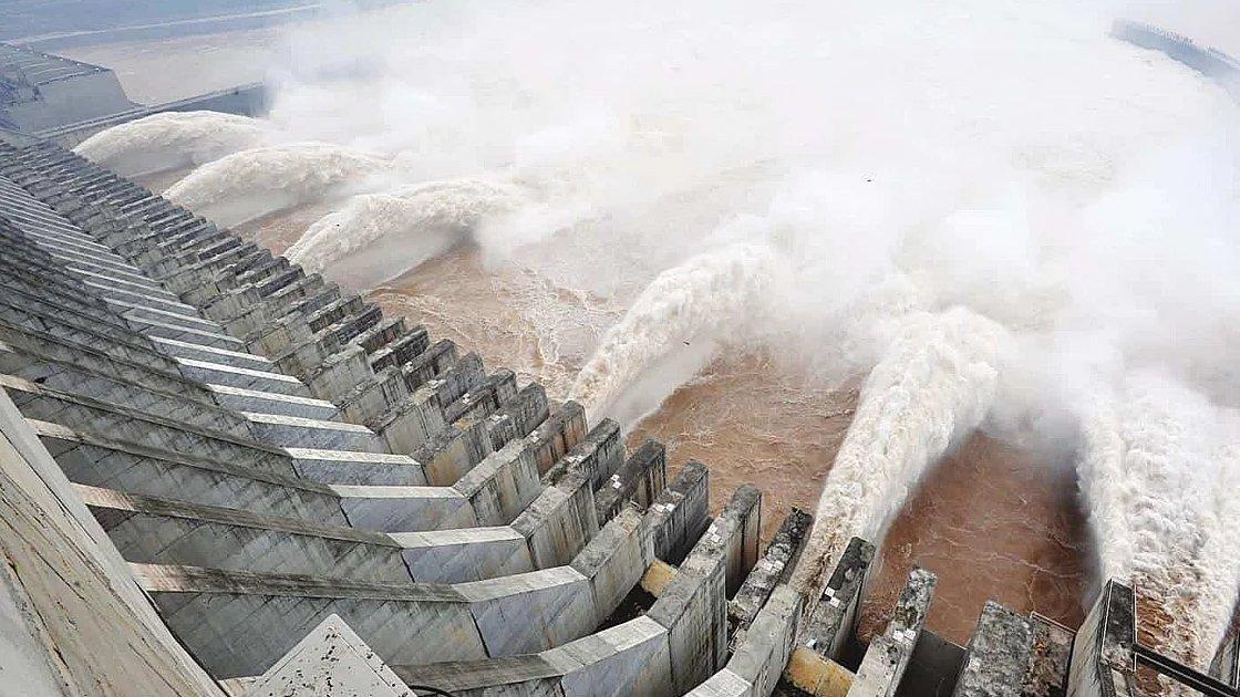 """ГЭС """"Три ущелья"""" в Китае"""