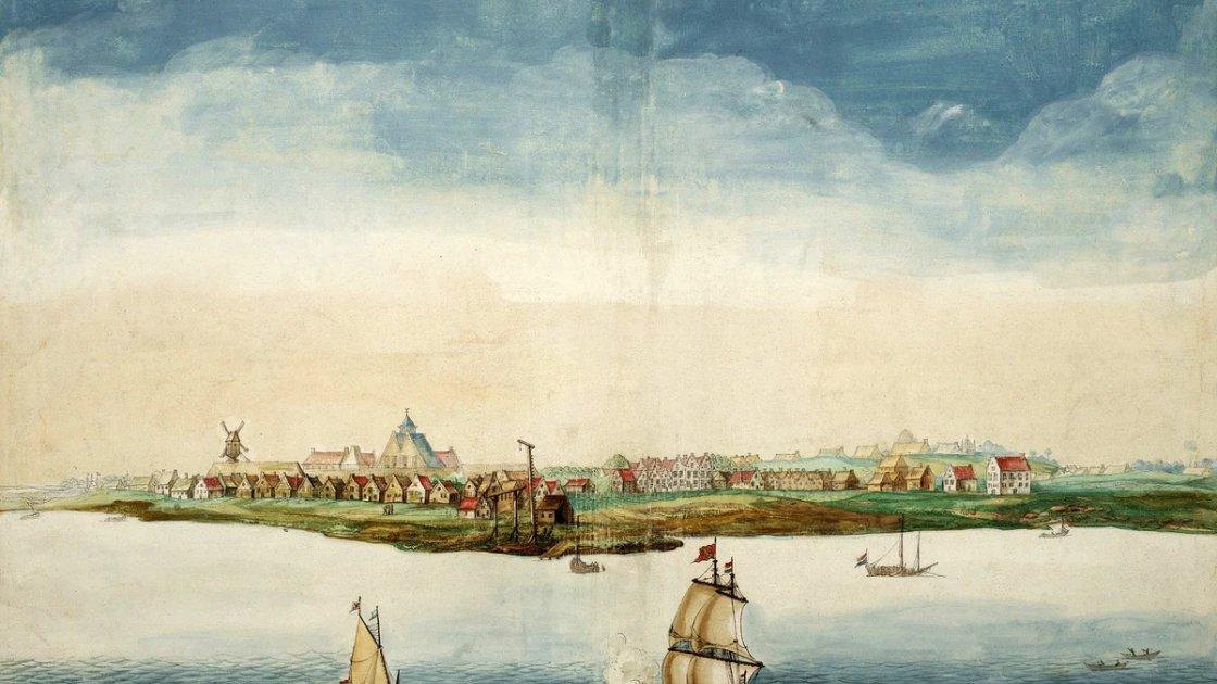 Новый Амстердам - будущий Манхэттен