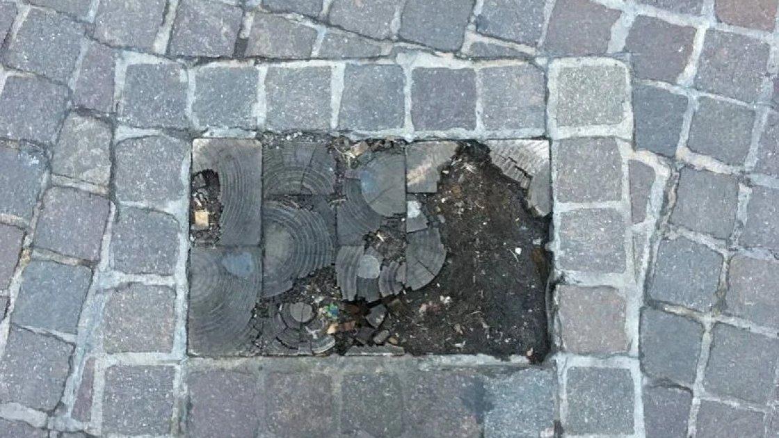 Брусчатка на Уолл-стрит