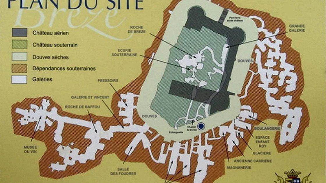 План замка Брезе
