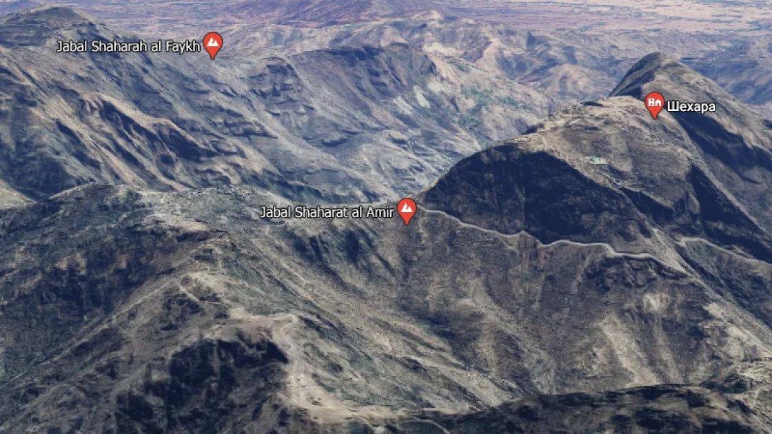 Где находится деревня Шехара