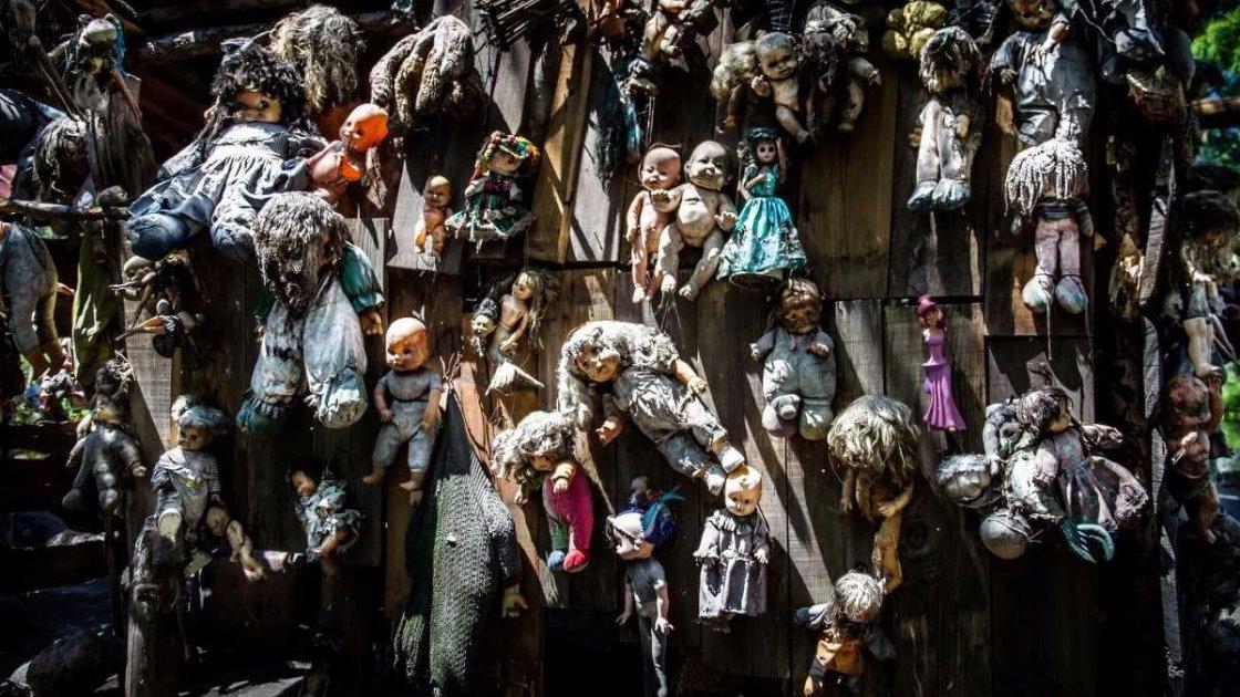Остров Кукол в Мексике
