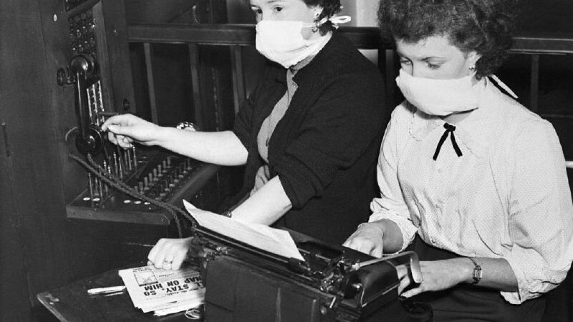 Когда в Лондоне все носили маски не из-за коронавируса