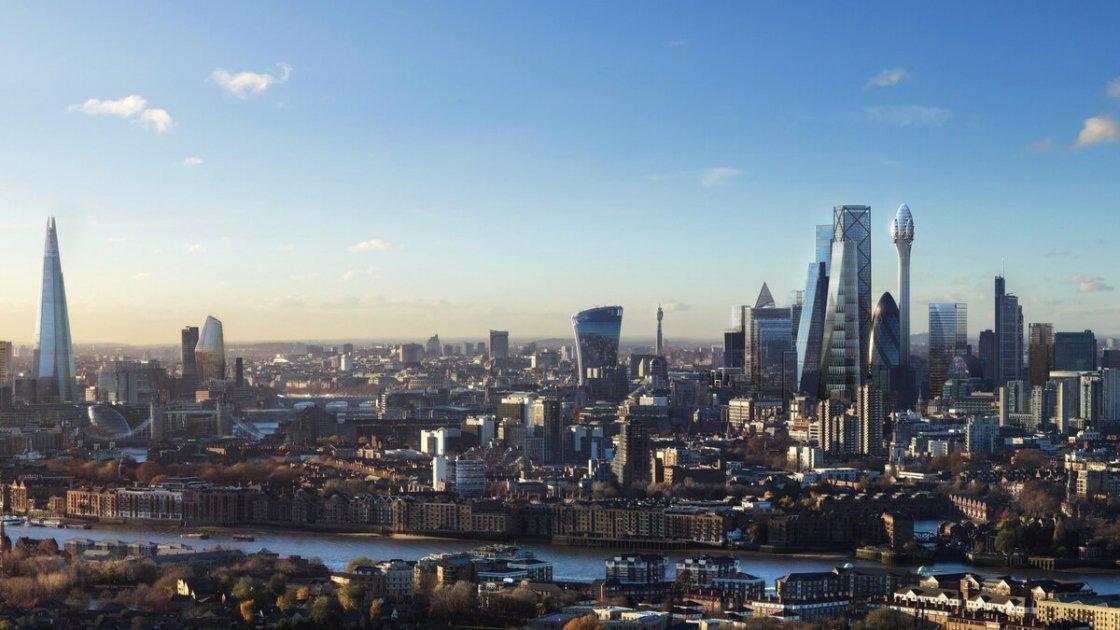 "От ""Осколка"" до ""Тюльпана"" - будущая панорама Лондона"