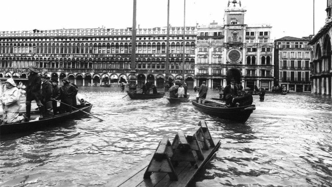 То самое наводнение, после которого весь мир заговорил о Венеции