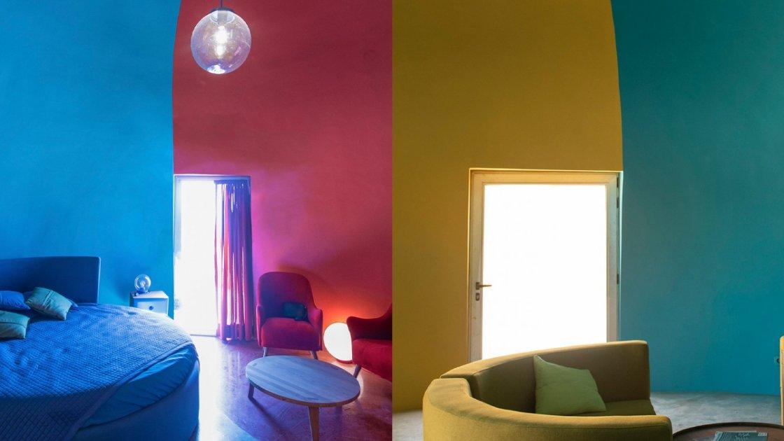 Цветные комнаты