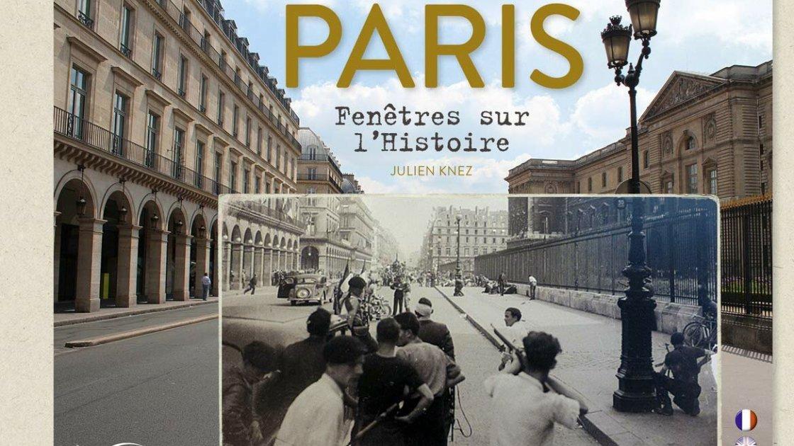 "Обложка книги ""Париж. Окна в историю"""