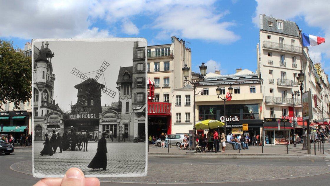 Moulin Rouge в 1900 году