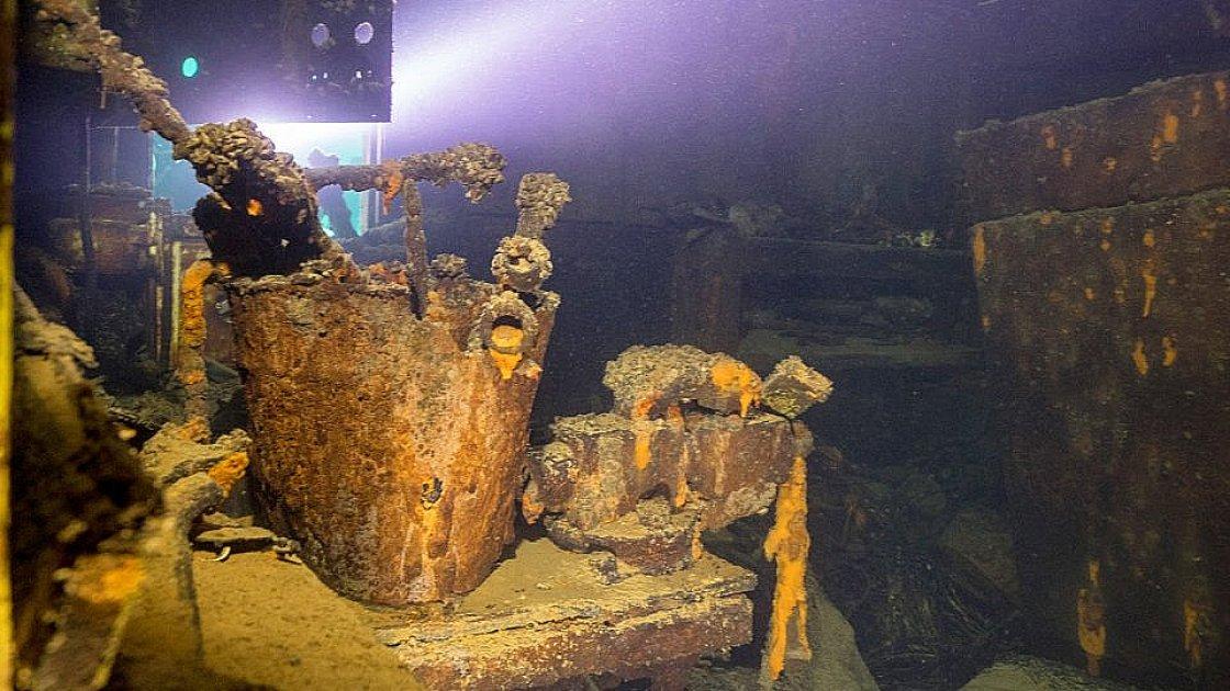 Подводная тюремная мастерская