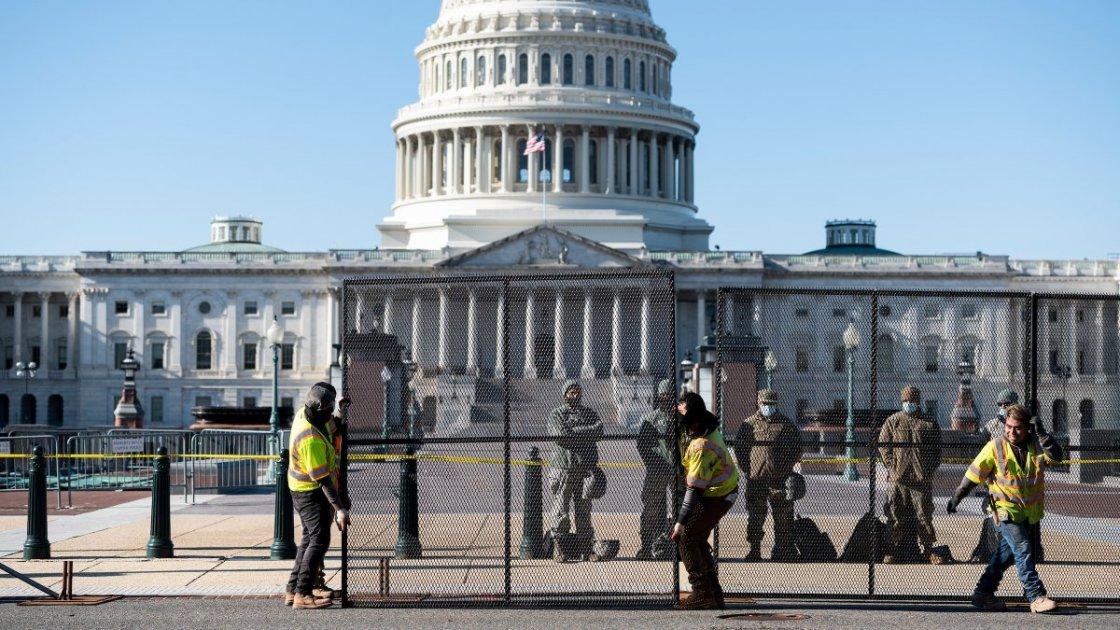 Забор вокруг Капитолия
