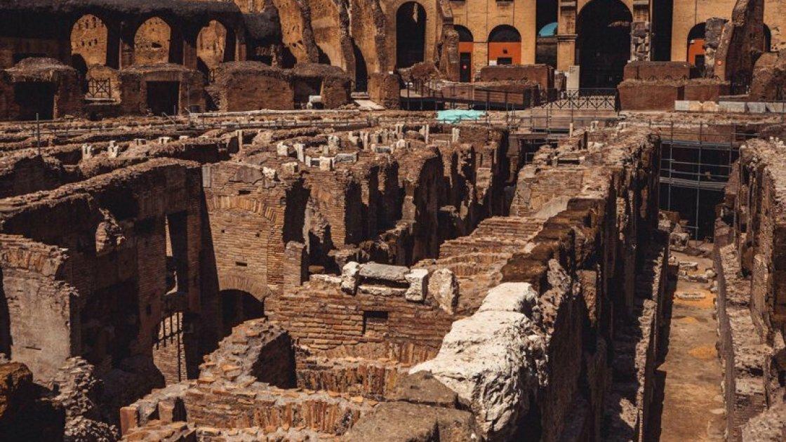 Гипогей - подземный лабиринт под ареной Колизея