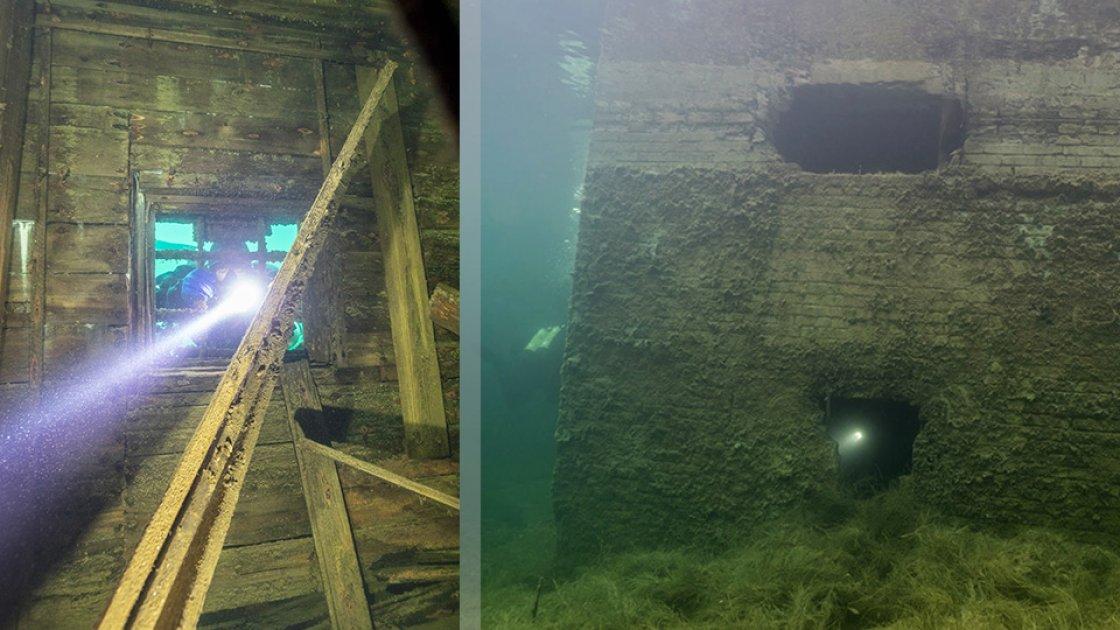 Подводные тюремные виды