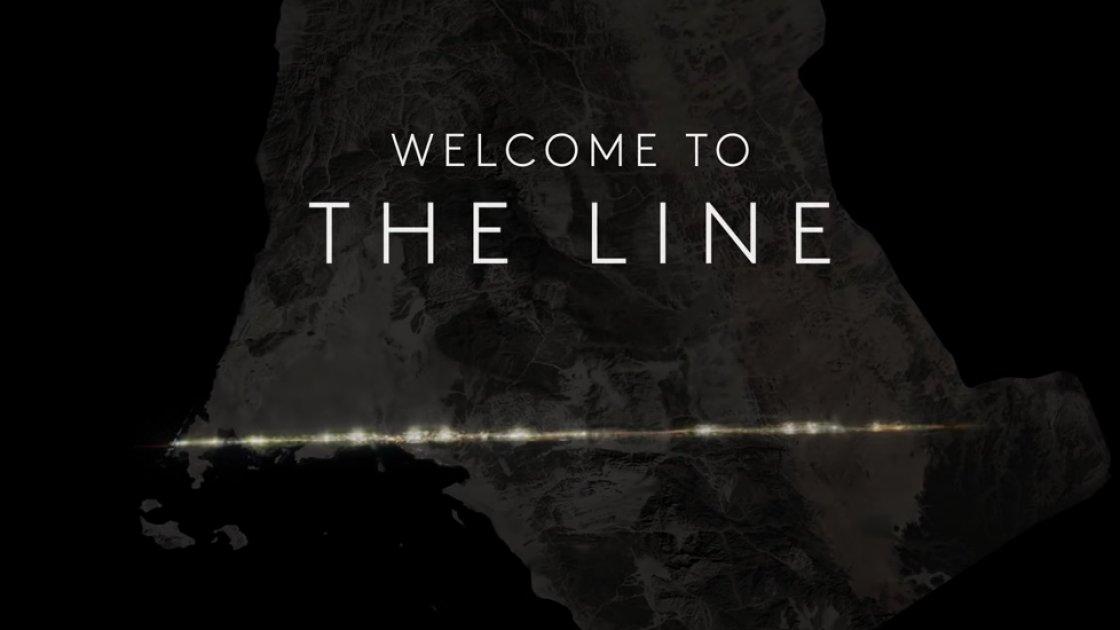Презентация проекта города The Line в Саудовской Аравии
