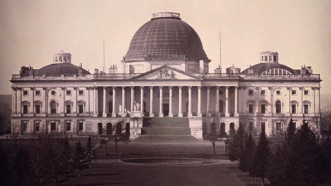 Так выглядел Капитолий в 1846-м году