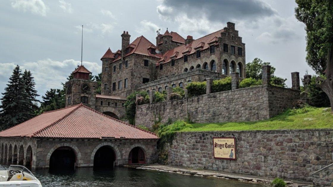 Замок Зингера на Тёмном острове