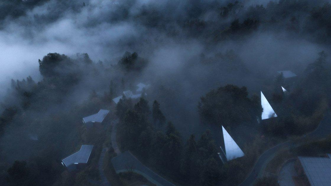 """Туман и """"облачные хижины"""""""