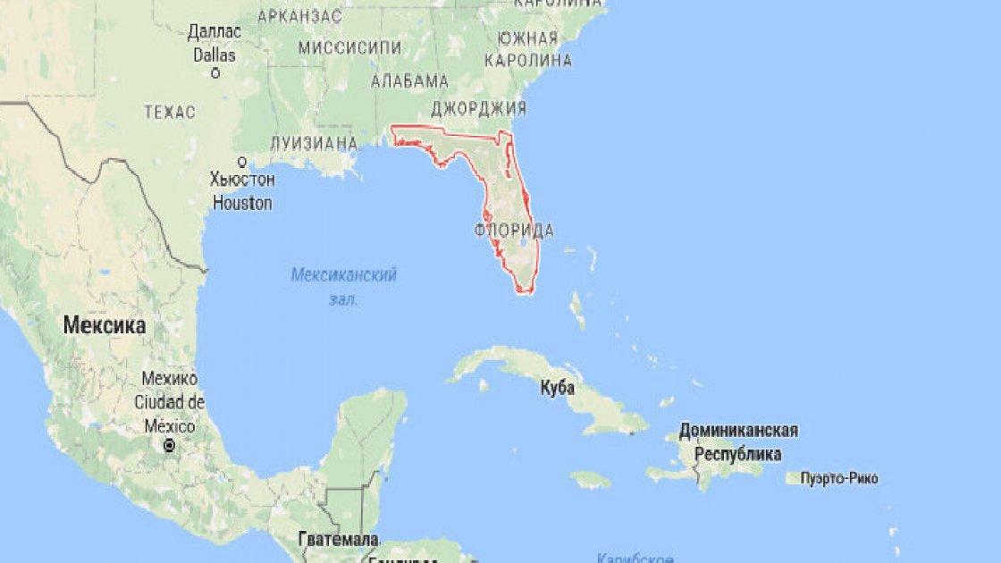 Почему Флорида выглядит сверху, как загадочный орнамент
