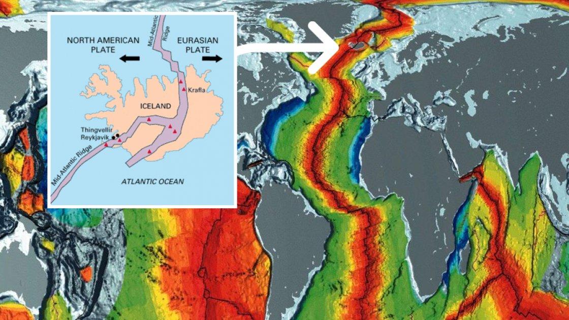 Исландия на линии Срединно-Атлантического хребта